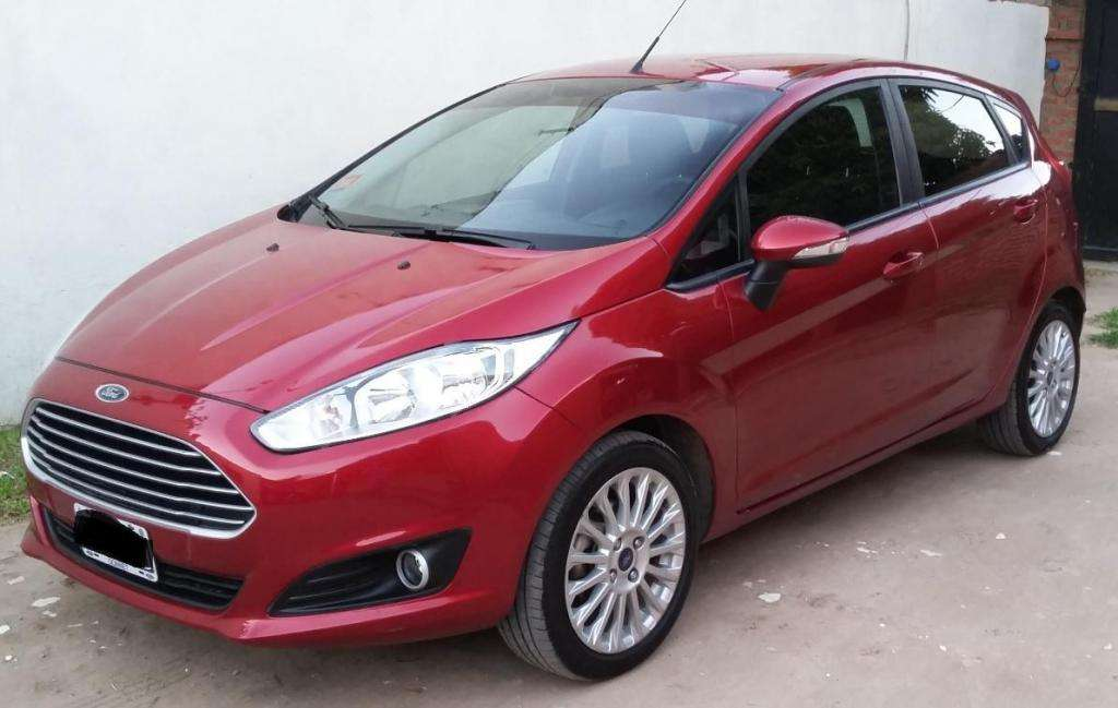 Ford Fiesta Se 1.6 5/p Mod 2015 Full Impecable !!!