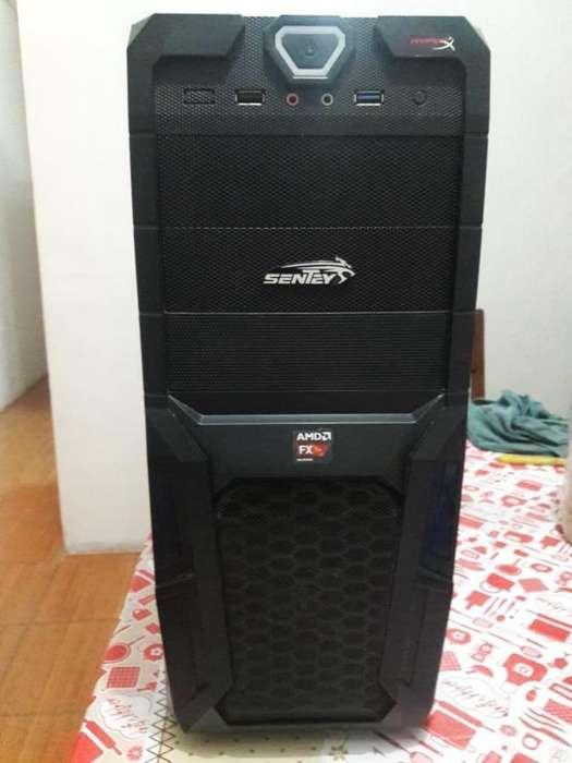 Pc Cpu Amd Fx 6 Nucleos 8gb Ram Sapphire 6850 1gb