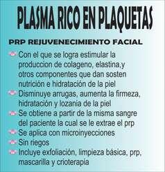 PLASMA RICO EN PLAQUETAS A DOMICILIO