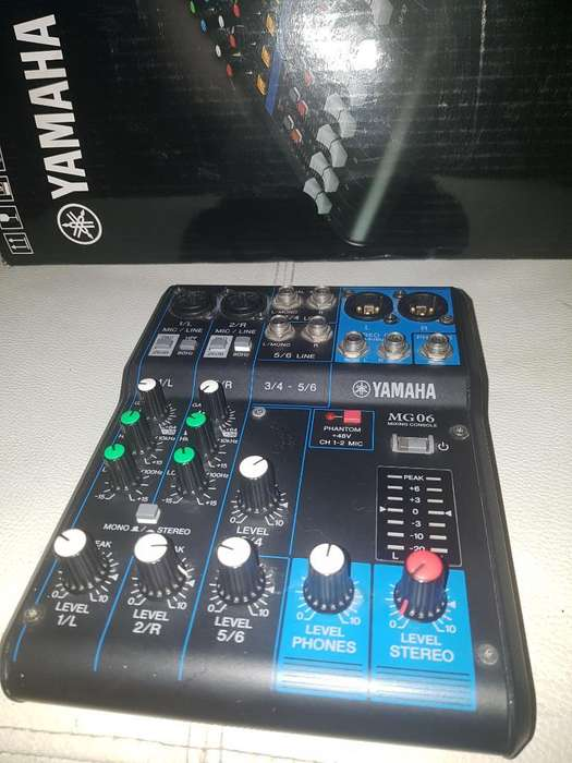 Vencambi Consola Mixer Mezclador Yamaha
