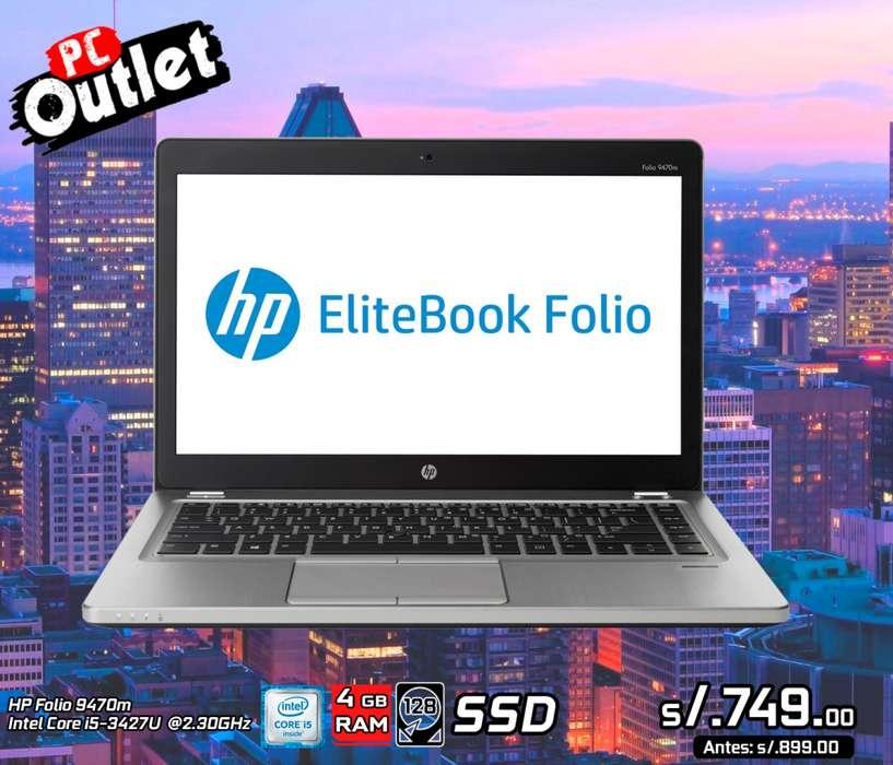 Laptop HP 9470m Intel Core i5 teclado iluminado