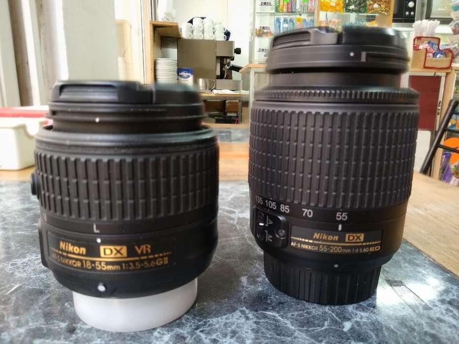 Vendo Lentes Nikon