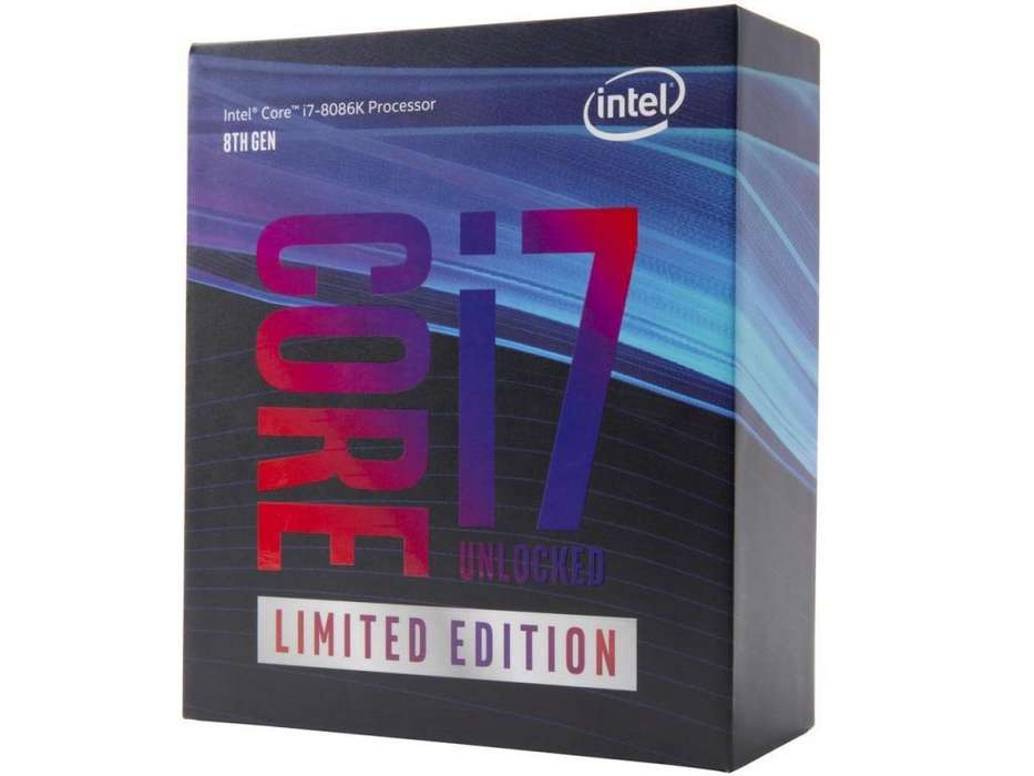 Procesador Intel Core I7 8086k Limited Edition 6 Núcleos 12 Hilos