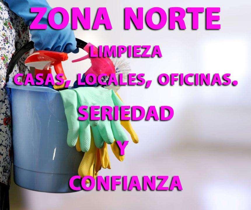 Limpieza De Casas, Locales Comerciales Y Oficinas. Zona Norte
