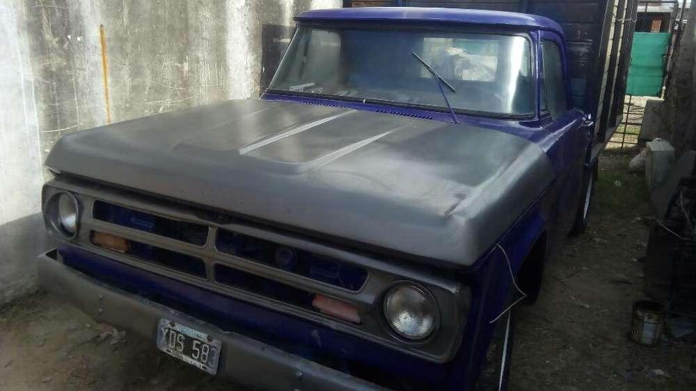 Dodge 100 Md 1978 Título Cédula 08 Firma
