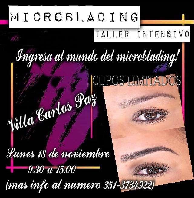 TALLER INTENSIVO MICROBLADING VILLA CARLOS PAZ