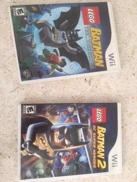 Wii Lego Juegos Batman, Harry Potter, Indiana Jones, Piratas Caribe y mas