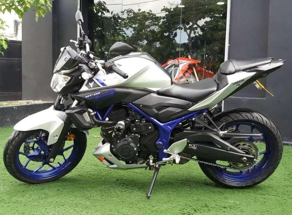 Yamaha MT03 Modelo 2017