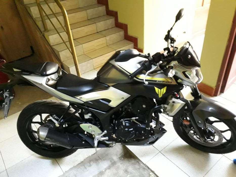 Vendo Yamaha Mt 03 Semi <strong>nueva</strong>