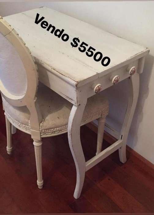 Silla Y <strong>escritorio</strong> Antiguo