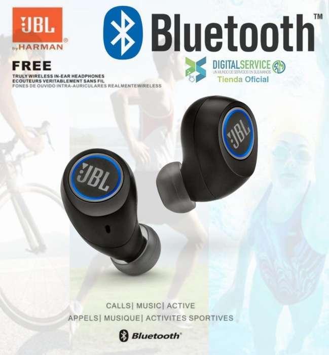 Audífonos Bluetooth Jbl Free Originales