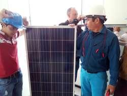 Curso energía solar fotovoltaica, Instalación de Paneles Solares