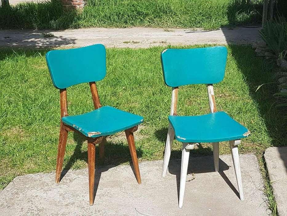 Par De Sillas De Diseño Retro Vintage Americanas 60s Hay