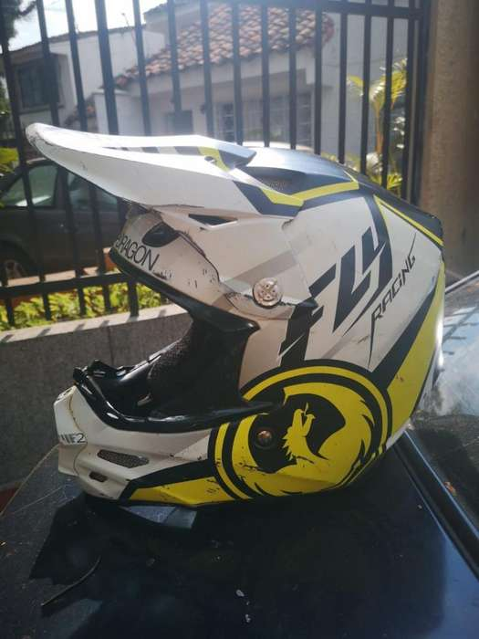 Vendo Casco Bmx Usado Fly en Carbono