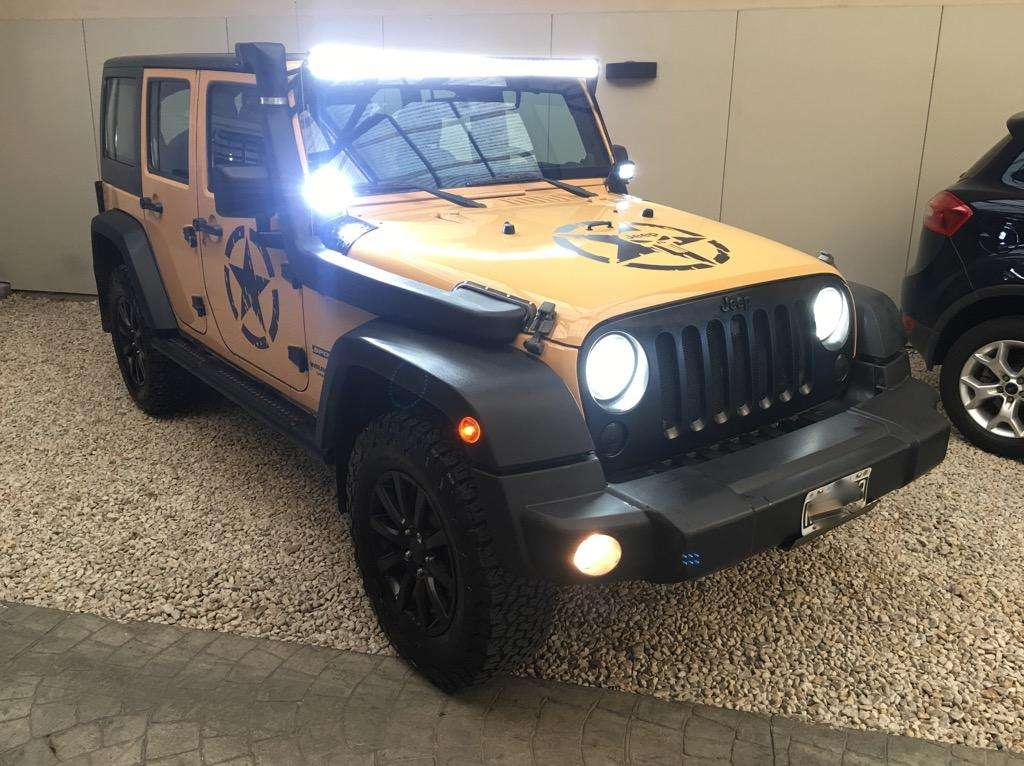 Jeep Wrangler Sport unlimited 2014