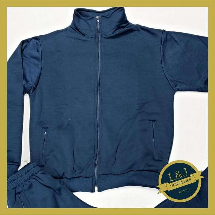 Conjunto Deportivo Frizado Azul