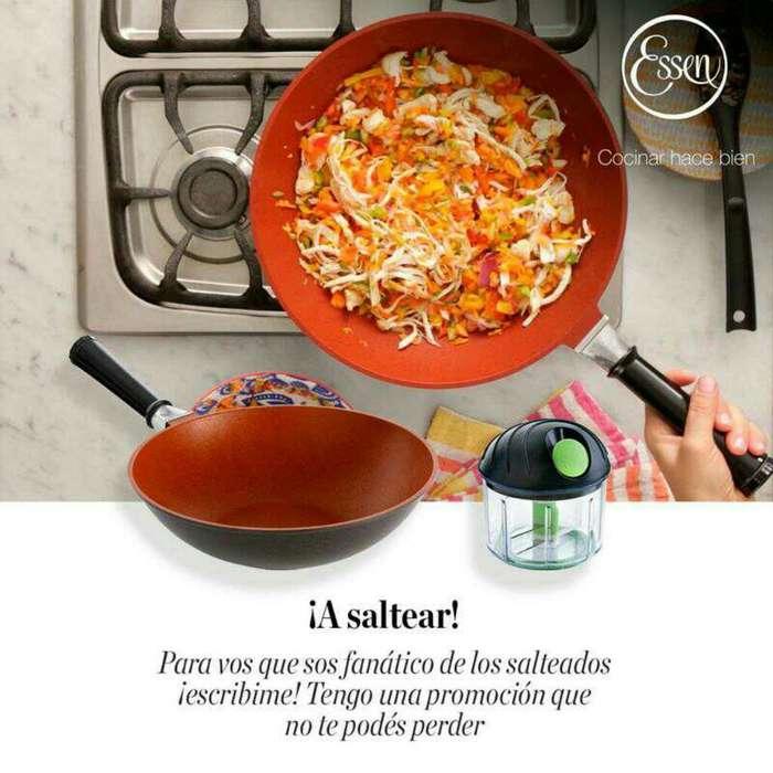 Sarten Chef Sensor Más Multiprocesador.