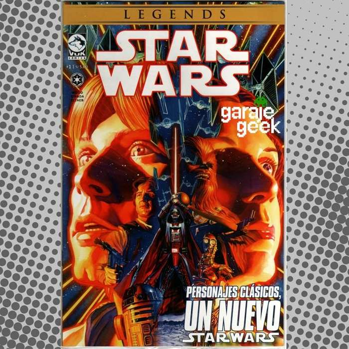 Cómic Star Wars: Legends, Colección 12 números