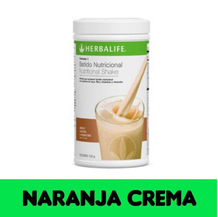 Batido Nutricional Naranja Crema- Envio Gratis- Herbalife