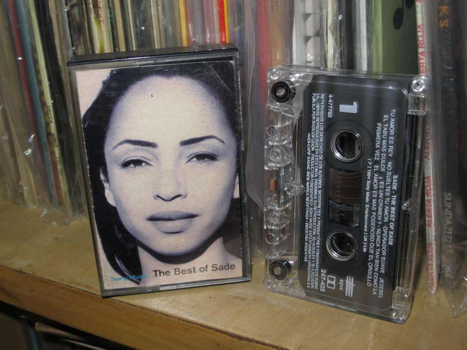 Sade - The Best Of Sade - Cassette ARG