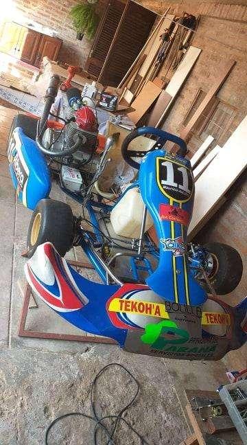Vendo chasis de karting marca Vara retrox mixto