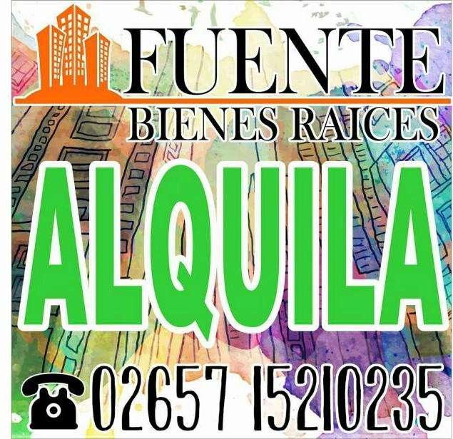 ATENCION FUENTE BS RAICES ALQUILA DUPLEX CENTRICOS!!!!