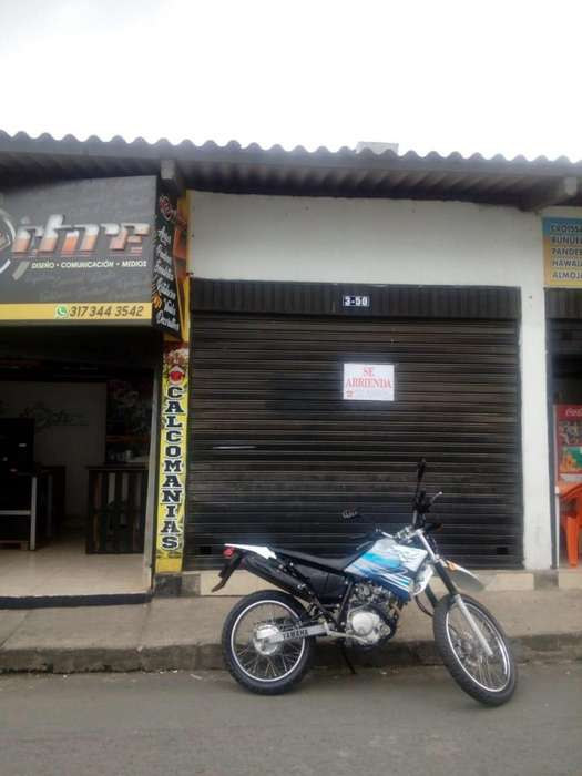 Se alquila local comercial en el centro sector de litografías