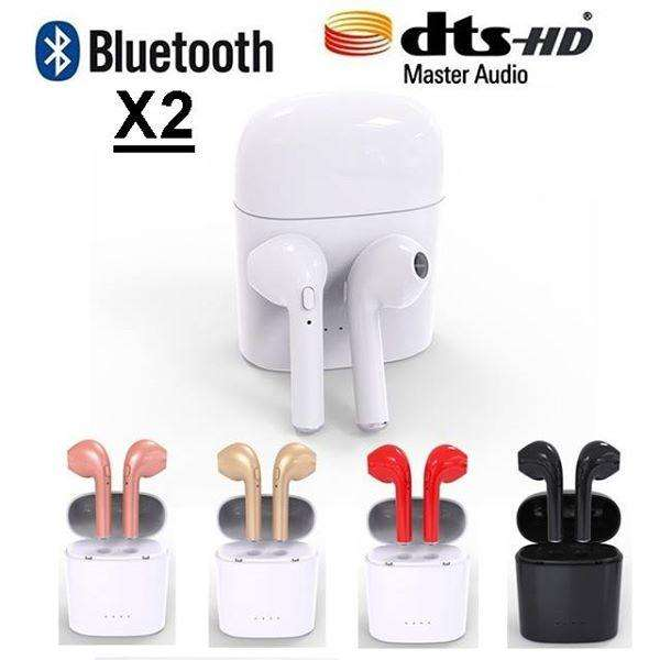 Auriculares inalambricos Audifonos Airpods Bluetooth 4.2 Iphone Android Nuevo