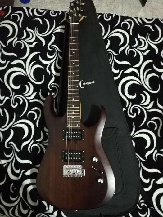 Guitarra Eléctrica Vorson Como Nueva