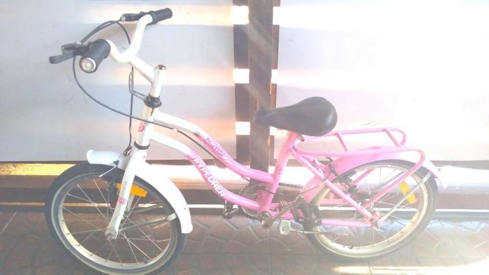 Liquido.bicicleta Rod 16.lista para Usar