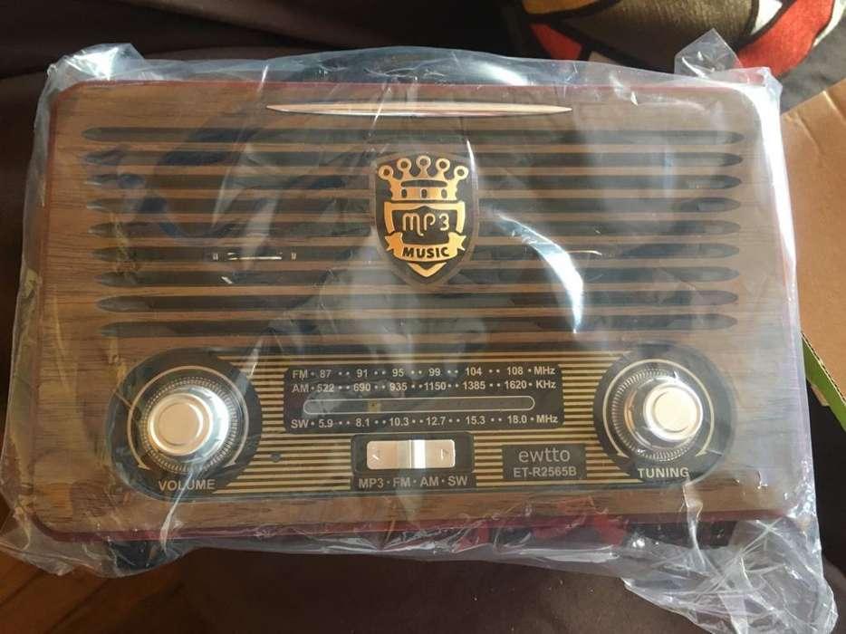 Radio Vintage Bluetooth Usb