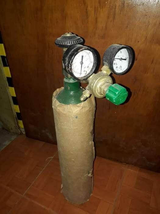 Tubo de Nitrogeno Regulador