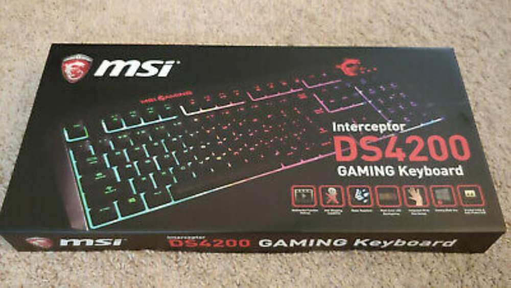 Teclado Gamer Interceptor Ds4200.