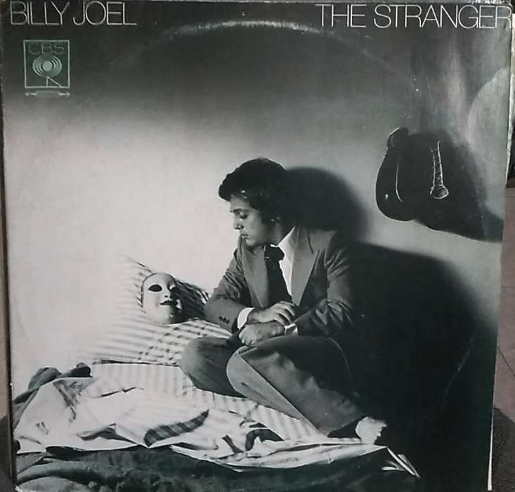 Billy Joel THE STRANGER vinilo LP en buen estado Discos CBS Colombia.
