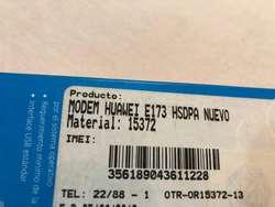 modem portatil usb HUAWEI E173