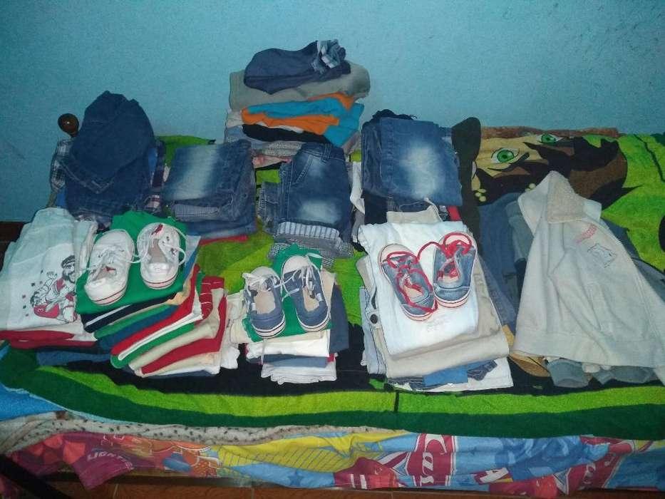 Vendo Lote de <strong>ropa</strong> Talle 4/6/8 para Niño