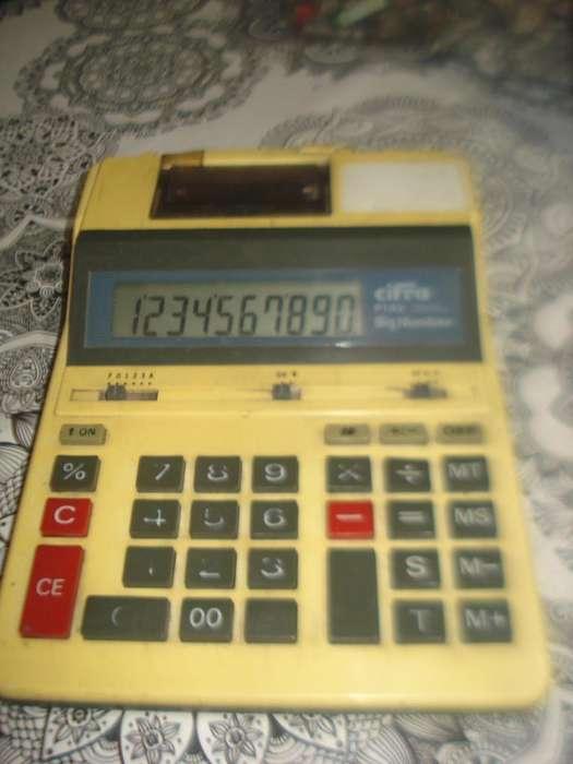 Sumadora Y Calculadora Cifra P103 Usada Funciona No Envio