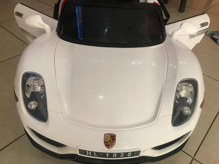 Carro a batera modelo Porsche a 300 soles 990005374