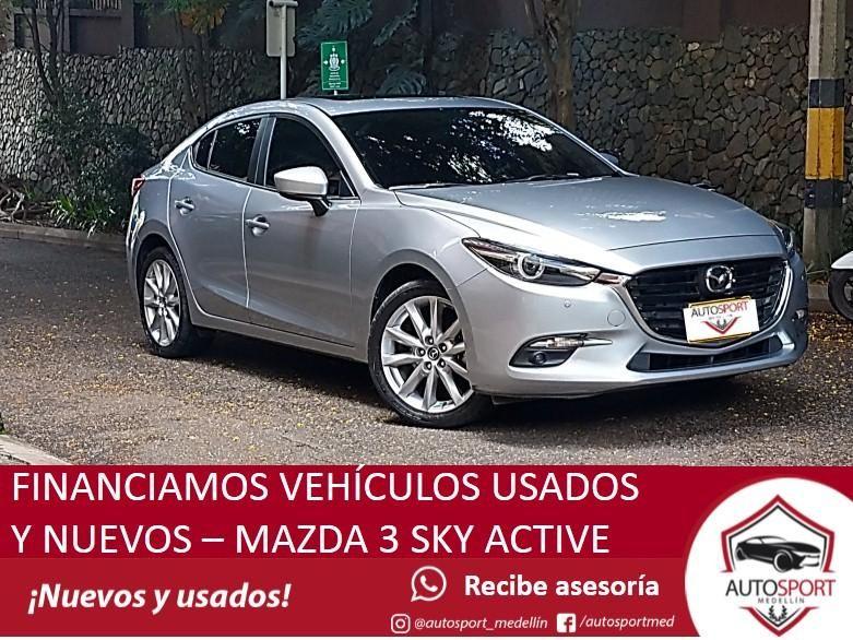 Mazda 3 Grand Touring - Crédito fácil y rápido