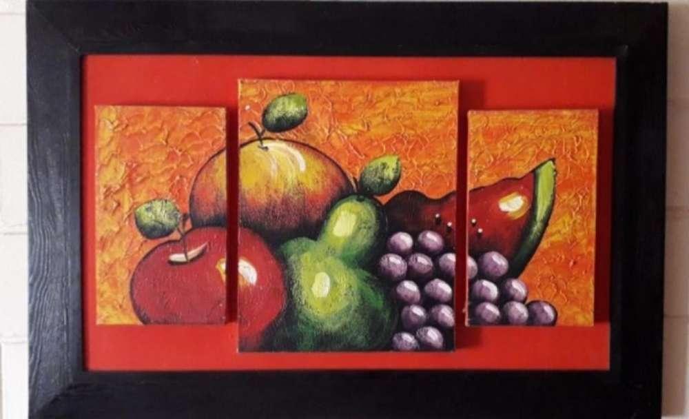 Cuadros de Frutas en Pintura Oleo