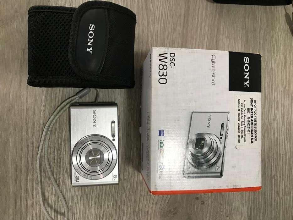 Vendo cámara Sony DSC W830