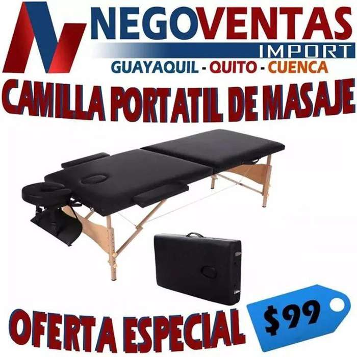 CAMILLA PORTÁTIL DE MASAJES EN COLOR NEGRO Y CAFÉ PRECIO OFERTA 99