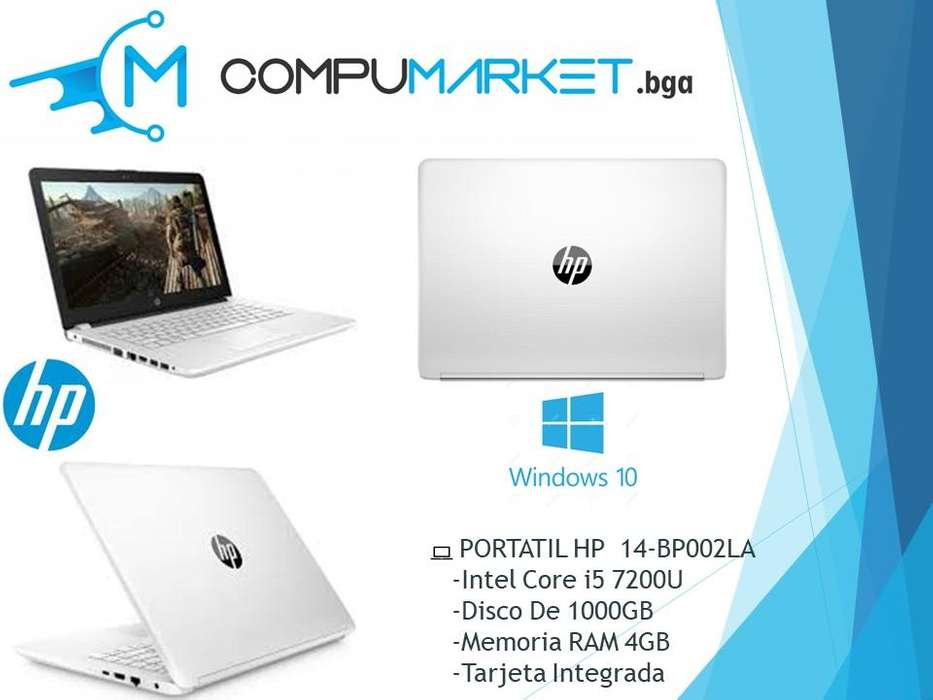 Computador Portatil Hp 14-bp002la Core I5 4gb