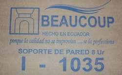 RACK SOPORTE DE PARED 8UR BEAUCOUP I1035 PARA REDES PEQUEÑAS