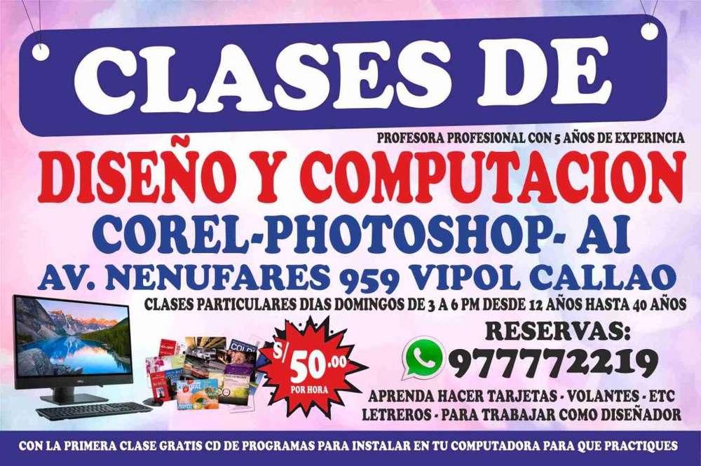 CLASES DE DISEÑO Y COMPUTACION