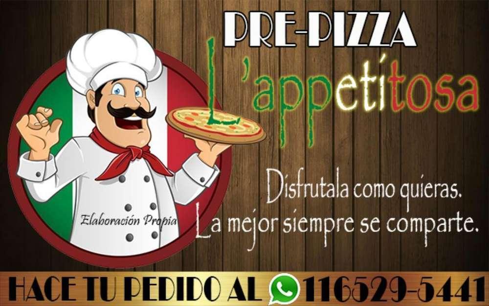 Fabricamos Pre-pizzas por Mayor Y Menor