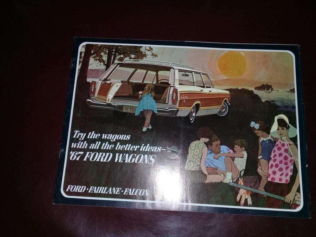 Catalogo Ford Wagons 1967