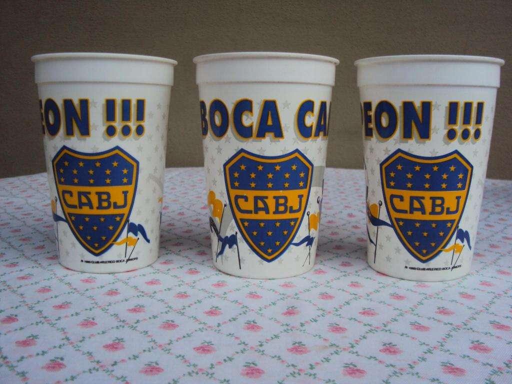 Vasos de Coleccion Boca Junior
