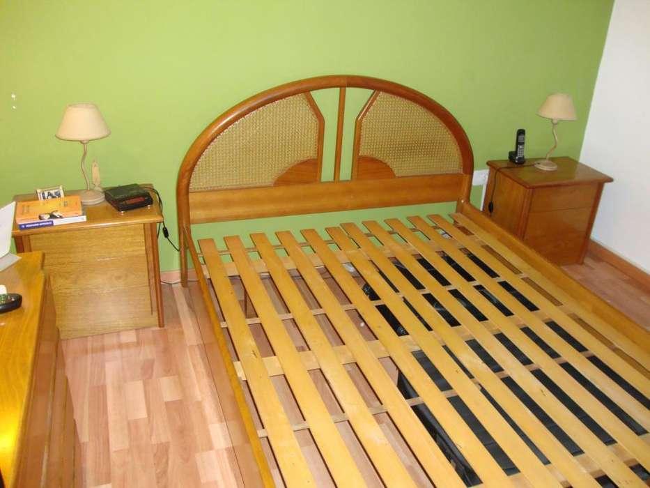 JUEGO <strong>dormitorio</strong> ROBLE MACIZO EXCELENTE