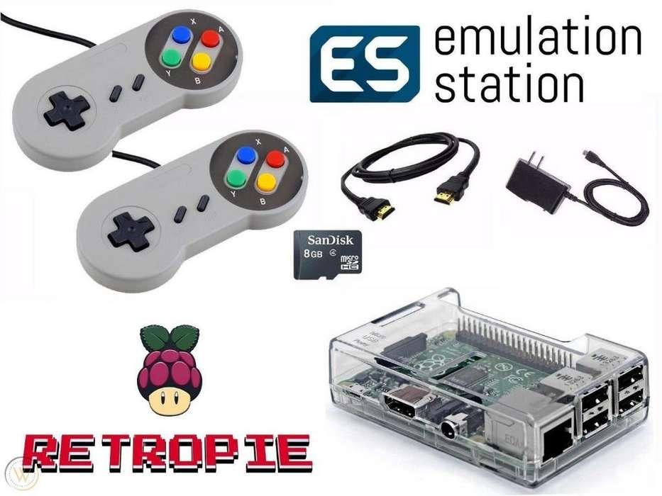 Consola Retropie - Raspberry Pi3 B Retro